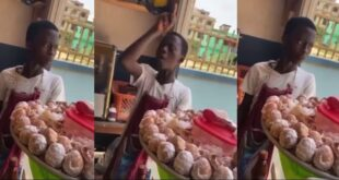 Young boy who sells eggs captured in a video saying he will k!ll his friend for taking his girl (video) 75