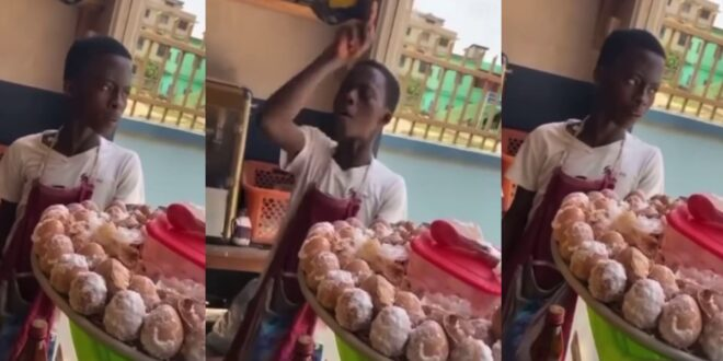 Young boy who sells eggs captured in a video saying he will k!ll his friend for taking his girl (video) 1