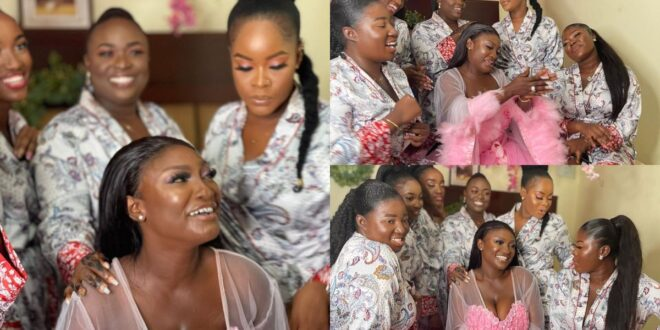 """""""There is nothing special in marriage""""- Abena Moet says after 2 weeks of marriage 1"""