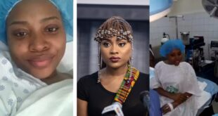 Adina Undergoes surgery to remove fibroid from her body. Shares her experience on twitter (video) 9