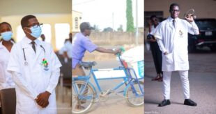 The touching story of a Street Yogurt seller now a student of Pentecost University pursuing a degree in nursing 3