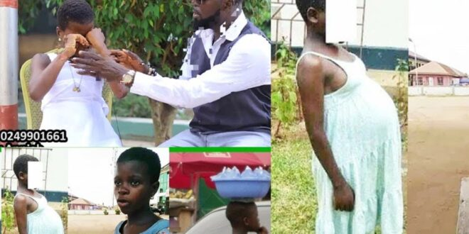 'I'm Not A Bad Girl, He R@ped Me,'A Pregnant 13-Year-Old Girl Tells How She Was R@ped While Selling Sachet Water | Video 1