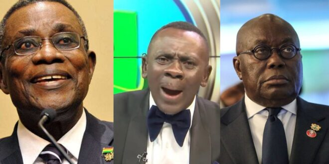 Akrobeto praises Late Atta Mills and blasts Nana Addo for this reason 1