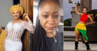 Akuapem Poloo nearly cried after Nana Ama Mcbrown did this to her. 60