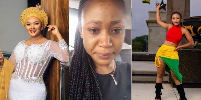 Akuapem Poloo nearly cried after Nana Ama Mcbrown did this to her. 1