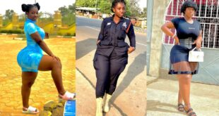 Ghana's sexiest Policewoman, Ama Serwaa is out with some breathtaking Photos 3