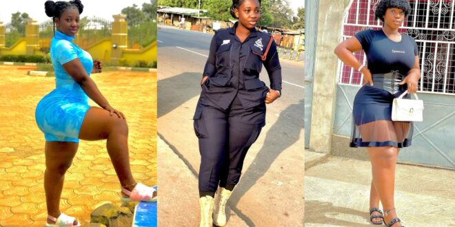 Ghana's sexiest Policewoman, Ama Serwaa is out with some breathtaking Photos 1