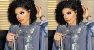 Bobrisky gives money to 3 die-hard fans who tattooed her on their body - Video 12