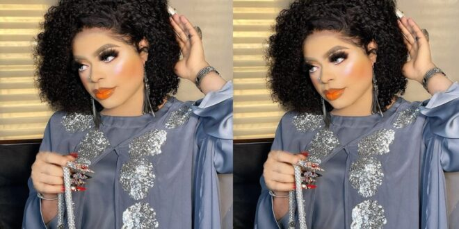 Bobrisky gives money to 3 die-hard fans who tattooed her on their body - Video 1