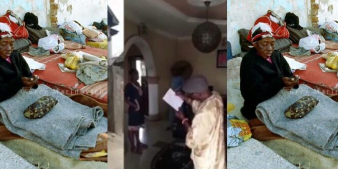 Man gives his family house as charity to church as his family sleeps outside - Video 1