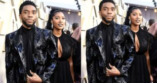 Wife of Late Black Panther actor Chadwick Boseman tears up as she takes his award - Video 42