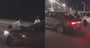 Sugar Daddy embarrasses Side Chick as he publicly takes back the car he bought for her - Video 4
