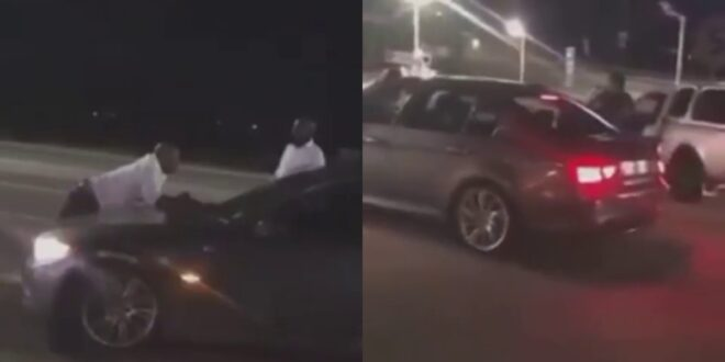 Sugar Daddy embarrasses Side Chick as he publicly takes back the car he bought for her - Video 1