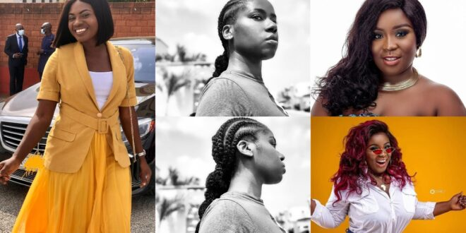 8 Beautiful Ghanaian Female Celebrities who have said 'NO' to bleaching (photos) 1