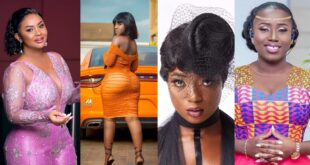 Top 10 Hot female celebrities in Ghana showbizness. 40