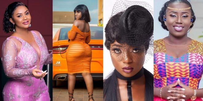 Top 10 Hot female celebrities in Ghana showbizness. 1