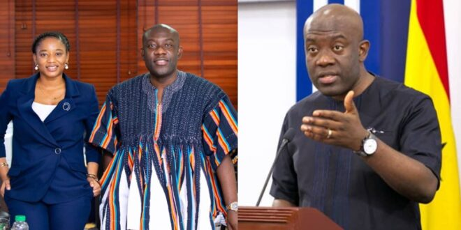 Kojo Oppong Nkrumah blocks media users for asking if he was chopping his female worker 1