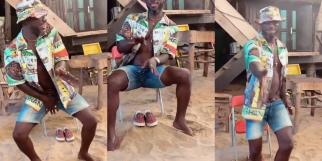 Kwabena Kwabena shows off some crazy dance moves that has gotten people talking (video) 1