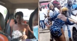 After being found removing her clothes on the streets, a lady was rushed to the asylum. 9