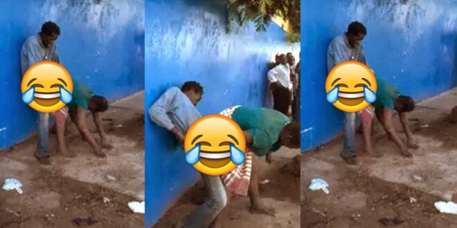 M@d couple 'enjoy' themselves doing the 'thing' on the streets (photos) 1
