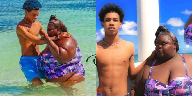 handsome man redefines true love after he flaunted his chubby girlfriend (photos) 1