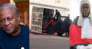After John Mahama's election petition was dismissed, a man d!ed at the Supreme Court (video) 9