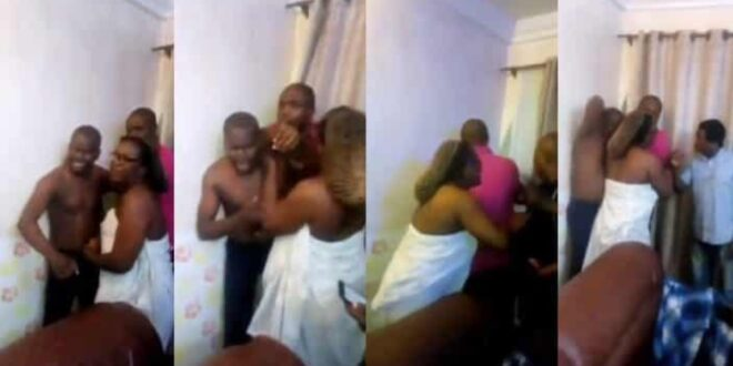 Pastor caught sleeping with a female church member who is married 1