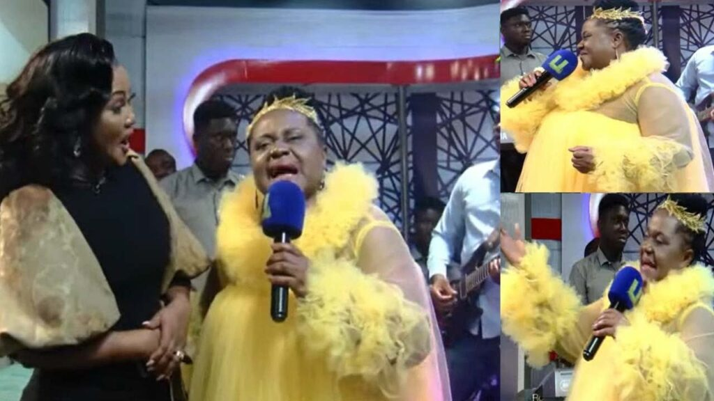 Powerful Prophetess reveal to Mcbrown that she will have a baby Boy soon (video) 2