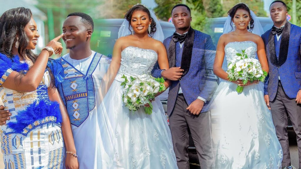 Exclusive videos from Yolo actor Fiifi's wedding (video) 2