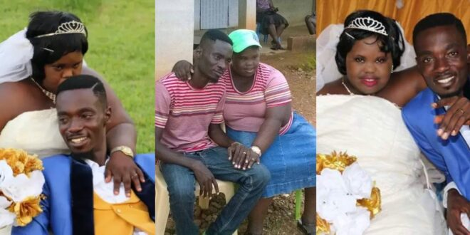 Photos of Mmebusem and his mentally impaired wife surfaces again on social media. 1