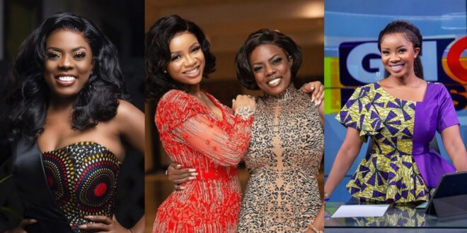 Nana Aba Anamoah warns serwaa Amihere not to lie to young girls about her life. 1