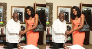 Yvonne Nelson fights Prez Nana Addo on Twitter - Check Out 18