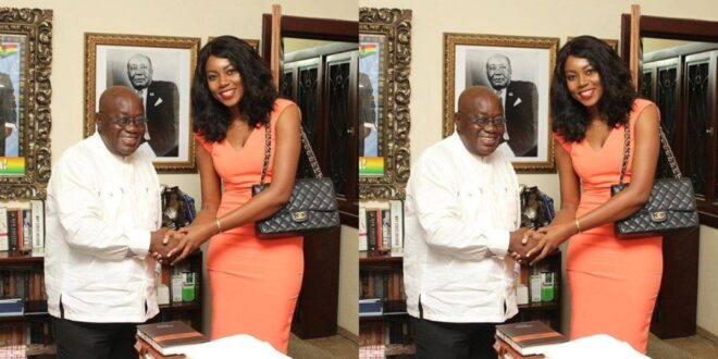 Yvonne Nelson fights Prez Nana Addo on Twitter - Check Out 1