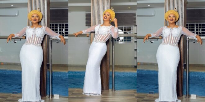 Nana Ama McBrown Shows Off Her Living Room Swimming Pool While Shading Her Detractors | Pictures 1