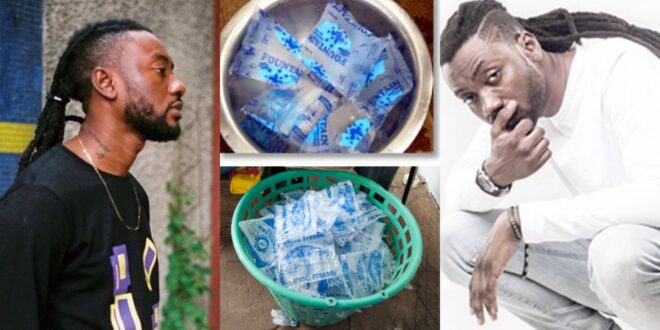 "Pappy Kojo now selling ""Pure water"" after failed music career (video) 1"