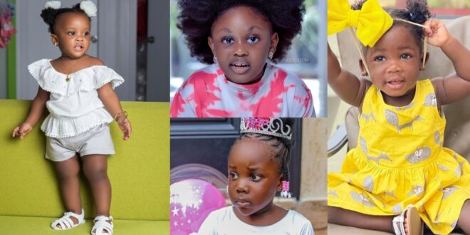 pictures of 10 beautiful daughters of Ghanaian celebrities 1