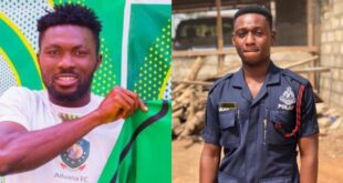 More details about Aduana Stars player, Farouk Adams who has k!lled a police officer drops - Photos 16