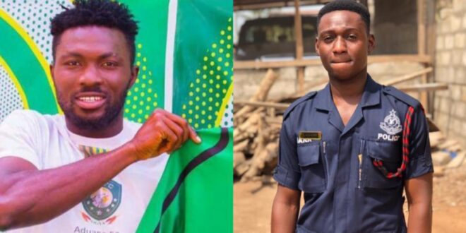 More details about Aduana Stars player, Farouk Adams who has k!lled a police officer drops - Photos 1