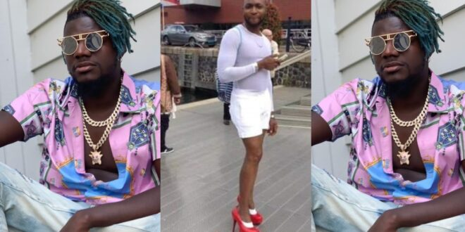 """Pope Skinny is G@y and he use to visit G@y nightclubs when he comes to Germany""- LGBTQ member reveals 1"