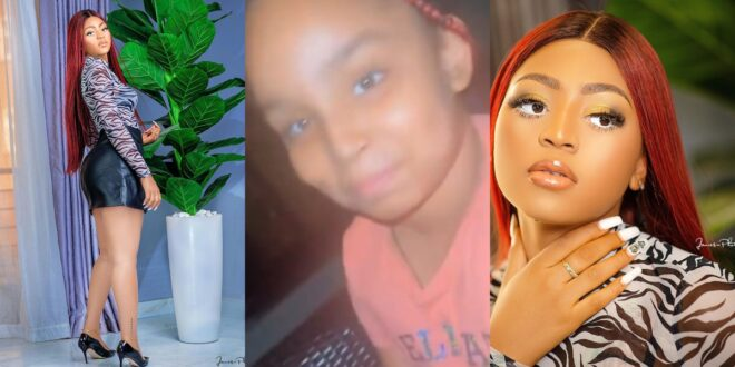 """""""You are the best step mother i have""""- Young daughter of Ned tells Regina Daniels 1"""