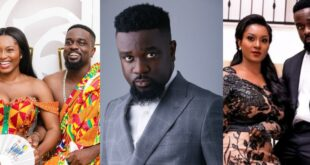 """44 cheap ladies want to ch0p me, but I am only yours""- Sarkodie assures Tracy 25"