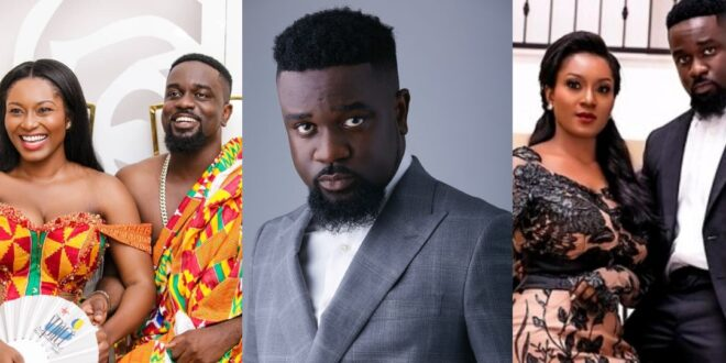 """""""44 cheap ladies want to ch0p me, but I am only yours""""- Sarkodie assures Tracy 1"""