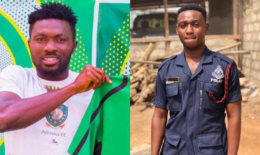 More details about Aduana Stars player, Farouk Adams who has k!lled a police officer drops - Photos