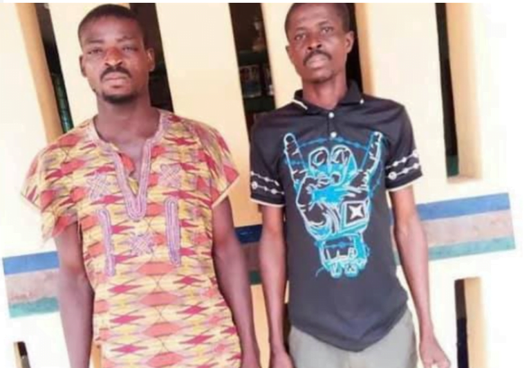 Two Men Arrested For Gang-R@ping Their Neighbor's Daughter At 2am - Photos