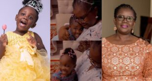 Stonebwoy's daughter Jidula warms hearts as she sings for her grandmother (video) 6