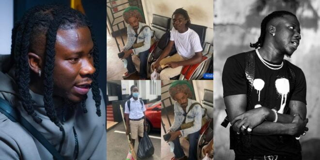 Stonebwoy Angrily reacts to Achimota denying two boys admission because of dreadlocks 1