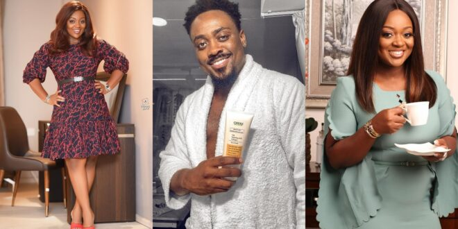 Toosweet Annan And Jackie Appiah spotted chilling together raising issues about dating (video) 1