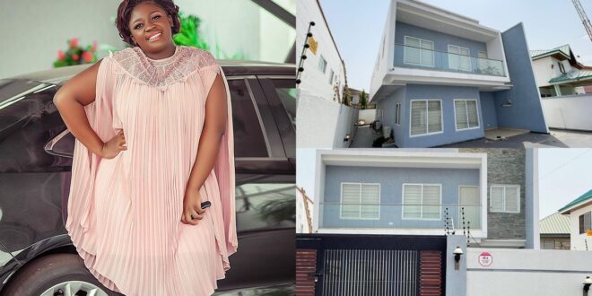 Tracey Boakye's East-Legon House Is Now For Rent 1