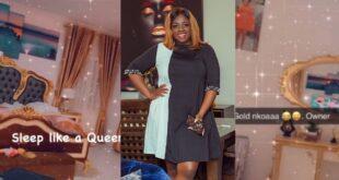 Tracey Boakye displays her 'Gold Nkoaa' bedroom (video) 70