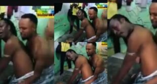 Two G@y men get stuck during Intercourse (video) 9